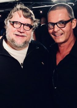 billy-gallo-actor-with-director-guillermo-del-torro